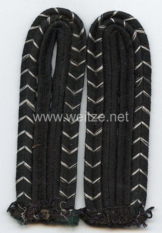 Bahnschutz Paar Schulterstücke für einen Bahnschutzmann (ohne Unterlage)