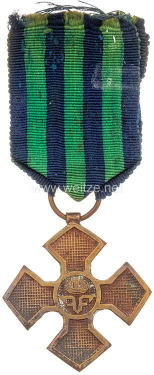 Rumänien 1. Weltkrieg: Erinnerungskreuz 1916-1918