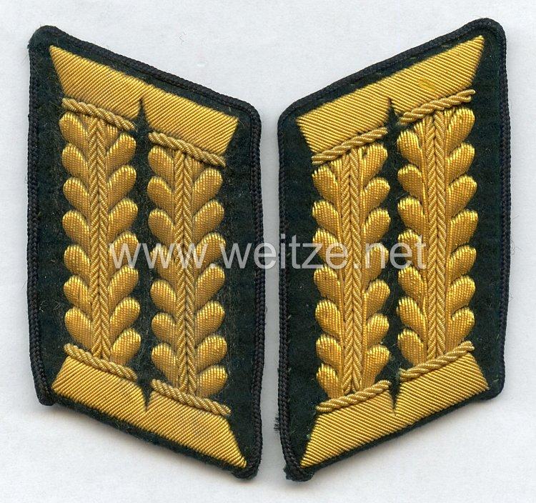 Wehrmacht Heer Paar Kragenspiegel WH Beamten des höheren Dienstes im technischen Dienst