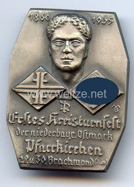 III. Reich - Erstes Kreisturnfest der niederbayr. Ostmark Pfarrkirchen 29.u.30. Brachmond (Juni) 1860-1935