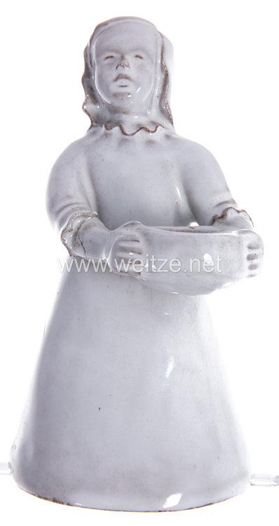 SS Porzellanmanufaktur Allach,-Hersegruppe-Mädchen mit Kerze