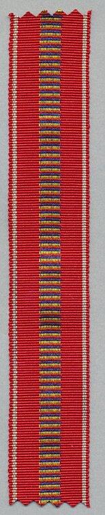 Originales Band zur Medaille Kreuzzug gegen den Kommunismus 1941