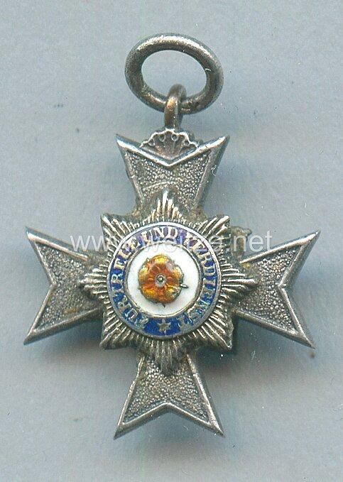 Lippe-Detmold Hausorden / Orden des Ehrenkreuzes 2. Modell mit Chiffre