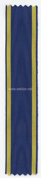 Original Ordensband: Braunschweig Kriegsverdienstkreuz 2. Klasse 1914 - 1918 - für Kämpfer .