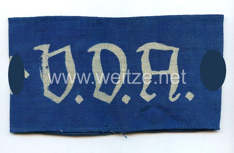 VDA - Volksbund für das Deutschtum im Ausland Armbinde