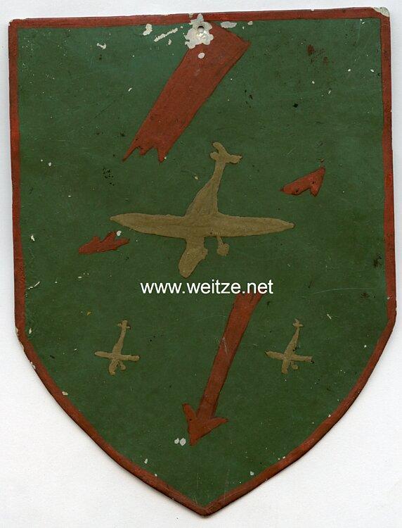 Luftwaffe : Wappenschild einer deutschen Fliegerstaffel