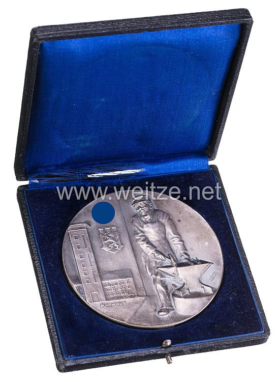 """III. Reich große nichttragbare Medaille der Stadt Velbert """"Für hervorragende Leistungen"""""""