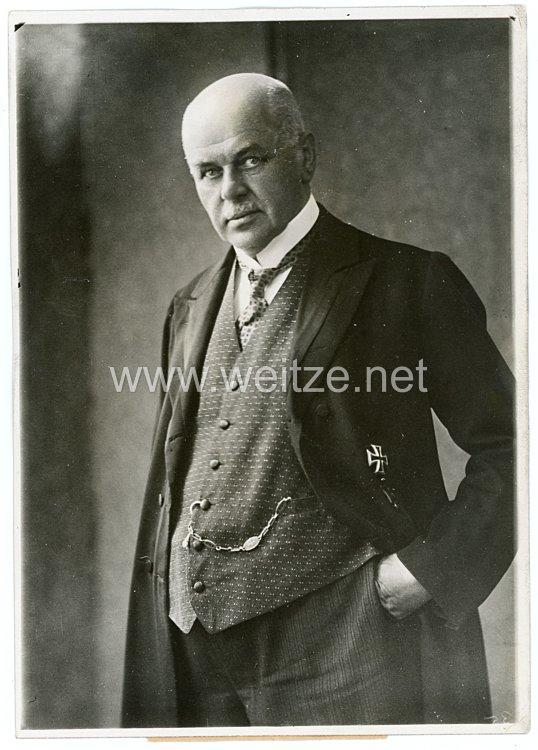 Weimarer Republik Pressefoto, Ministerpräsident Cassebohm 17.6.1931