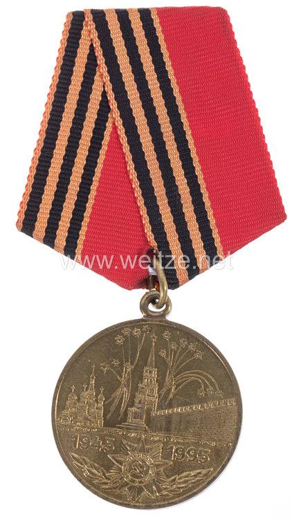 Sowjetunion Jubiläum Medaille: 5o -Jährige Siegestag
