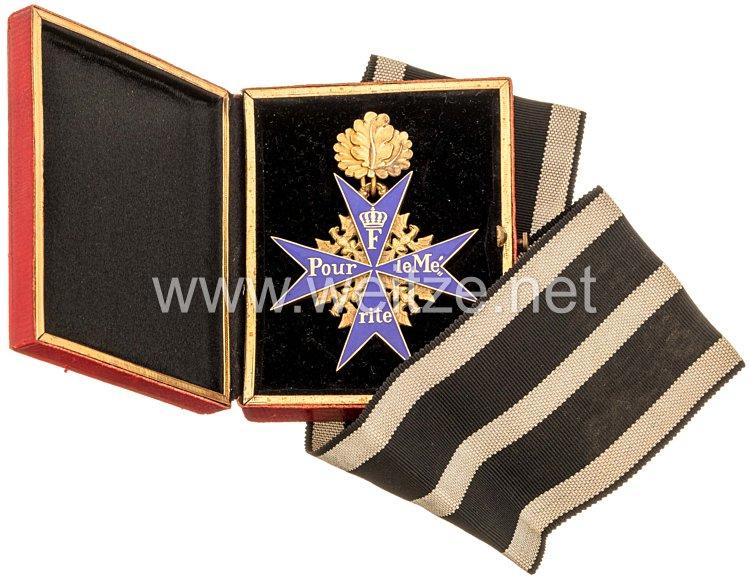 Preußen Orden Pour le Mérite mit Eichenlaub