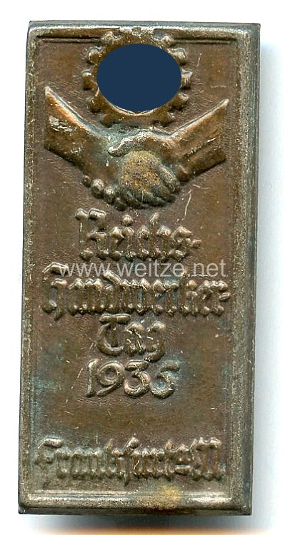 III. Reich - Reichs-Handwerkertag 1935 Frankfurt a.M.