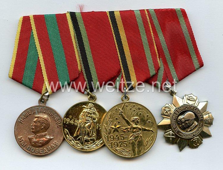 Sowjetunion: Ordensschnalle eines Veteranen