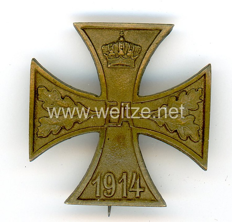 Braunschweig Kriegsverdienstkreuz 1. Klasse 1914 - Prinzengröße