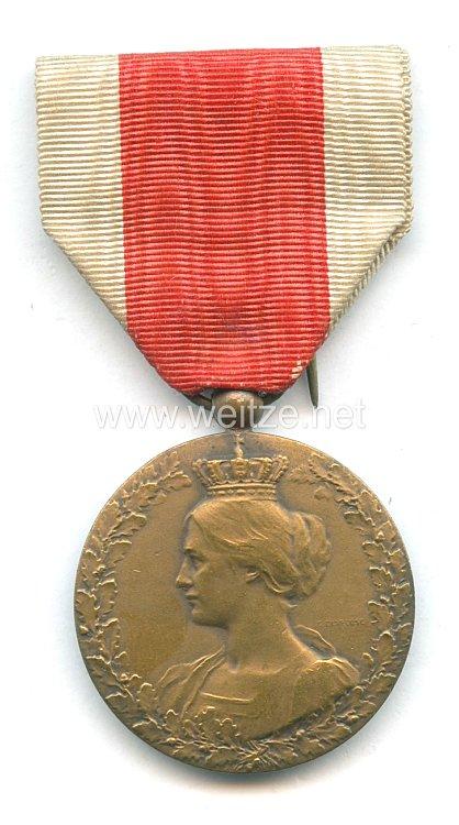 "Belgien Erster Weltkrieg Medaille ""en souvenir de la collaboration1914 - 1918"""