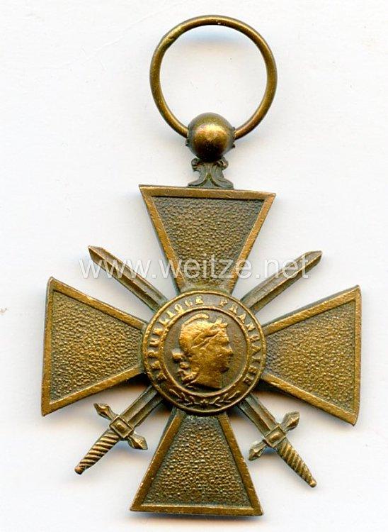 """Frankreich """"Croix de guerre 1914-1918"""""""