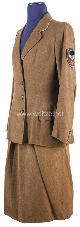 Uniformensemble für eine RAD-Führerin, Arbeitsgau XXI (Niederrhein)