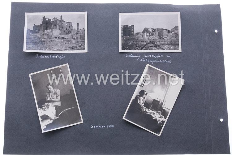 Bundesrepublik Deutschland ( BRD )  Fotos, zerstörte Stadt Bochum 1947