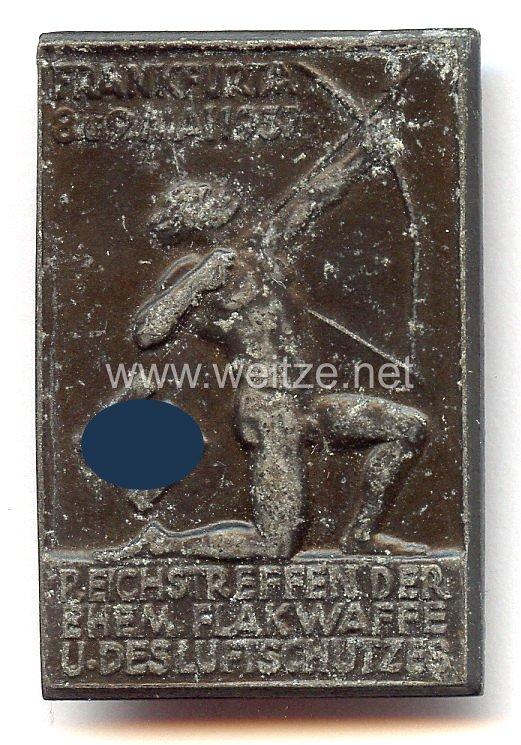 III. Reich - Reichstreffen der ehem. Flakwaffe u. des Luftschutzes Frankfurt a.M. 8. u. 9. Mai 1937