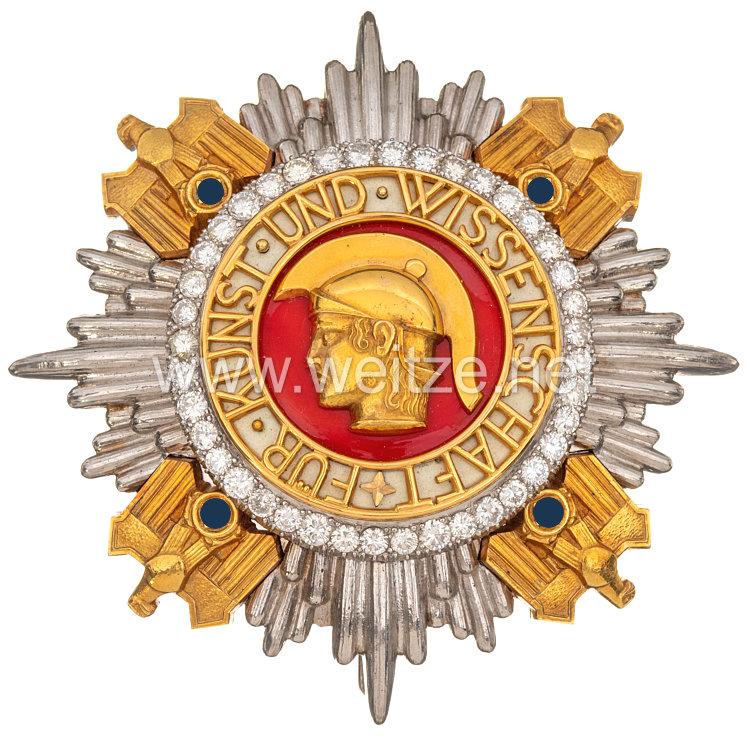 Nationalpreis für Kunst und Wissenschaft - Ordensstern und Ordensschärpe
