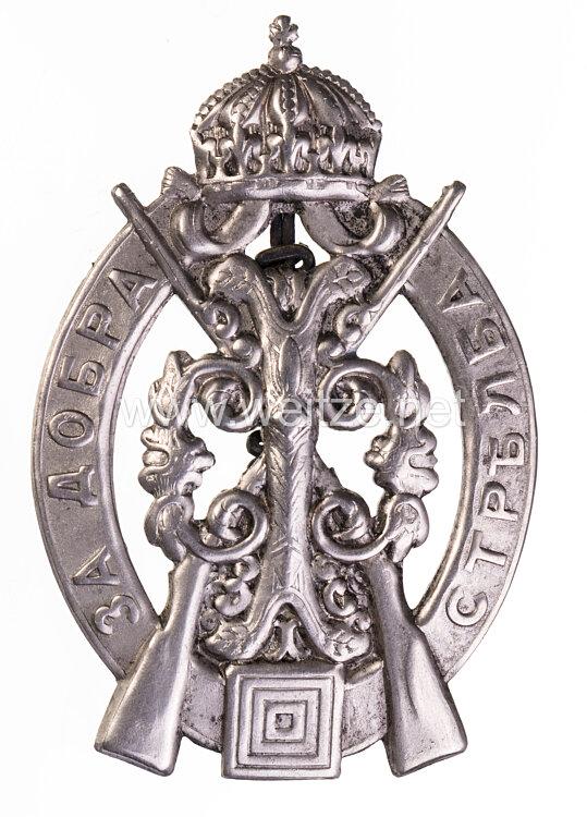 Königreich Bulgarien Schießauszeichnung der Infanterie