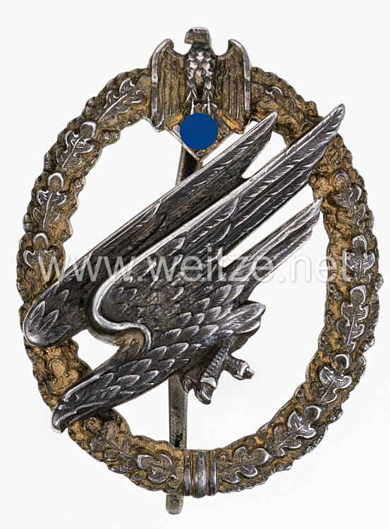 Fallschirmschützenabzeichen des Heeres -Ausführung aus Silber