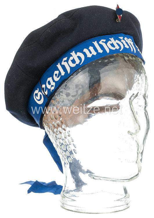 Marine-HJ dunkelblaue Tellermütze für Marine-HJ Jungen des Segelschulschiff Horst Wessel