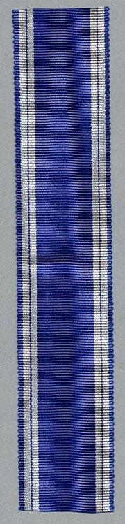 Originales Band zur NSDAP Dienstauszeichnung in Silber