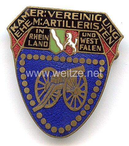 Verband Deutscher Artillerievereine - Mitgliedsabzeichen der Kameradschaftlichen Vereinigung ehemaliger Artilleristen in Rheinland und Westfalen
