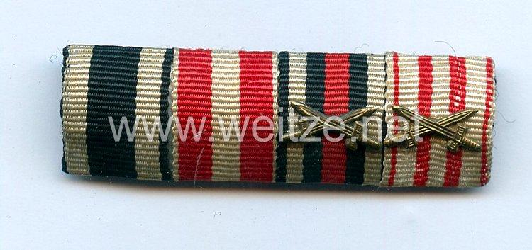 Bandspange eines BremersVeteranendes 1. Weltkriegs