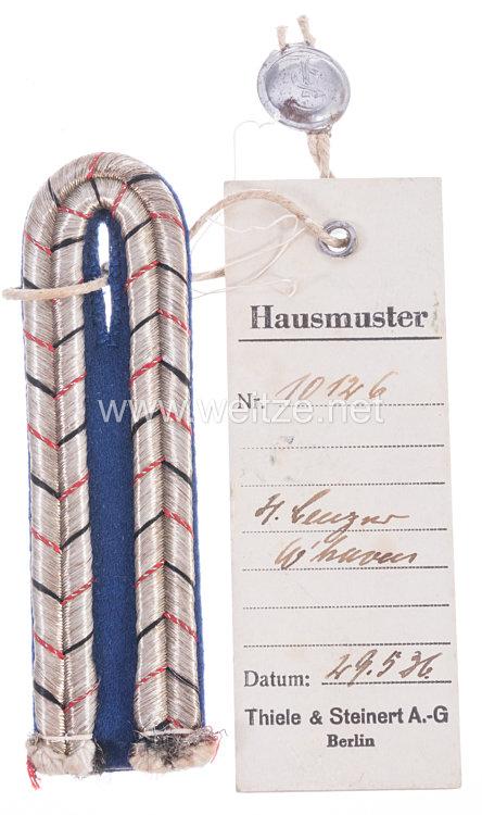 III. Reich Einzel Schulterstück für Hafen-Polizeibeamte Wilhelmshaven