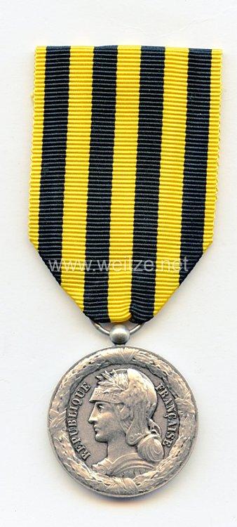 """Frankreich """"Médaille commémorative de l'expédition du Dahomey"""" Nachprägung (Restrike)"""