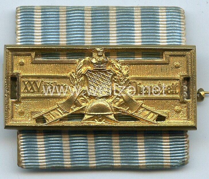 Bayern Feuerwehr-Ehrenzeichen nach 25-jähriger Dienstleistung (1884-1918) .