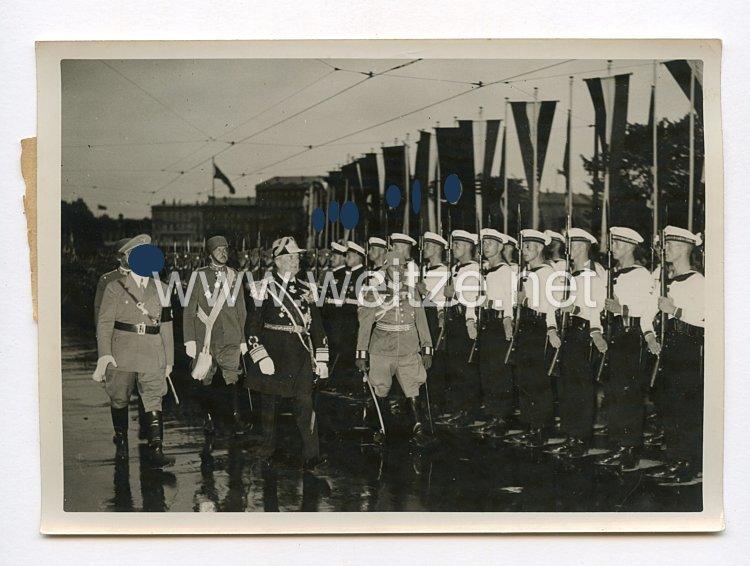 III. Reich Pressefoto. Horthy in Berlin. 24.8.1938.