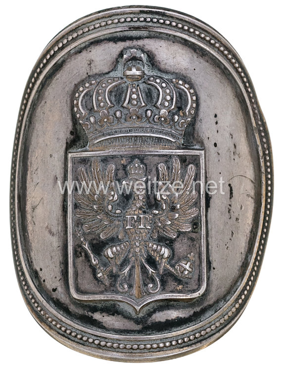 Preußen Fahnennagel für eine Bataillonsfahne zum befestigen eines Fahnenbandes