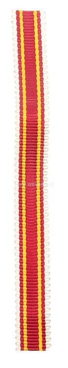 Baden Kriegsverdienstkreuz 1916 - Band für die Miniatur