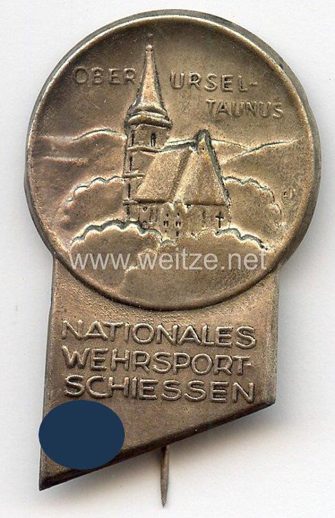 III. Reich - Nationales Wehrsportschiessen Oberursel Taunus