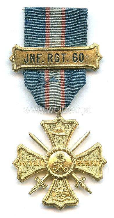 Regiments-Erinnerungskreuz des Infanterie-Regiment Nr. 60
