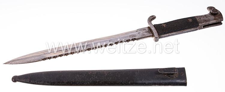 Preußen Extraseitengewehr KS98 .