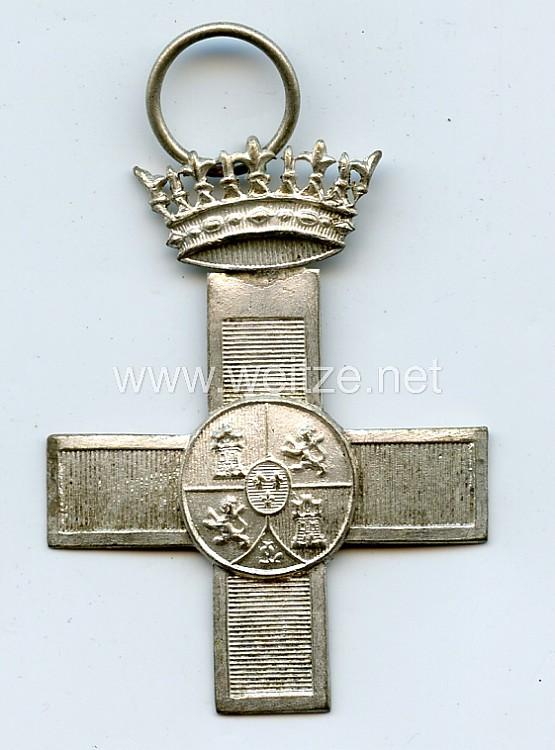 Spanien ab 1938, silbernes Militär-Verdienstkreuz