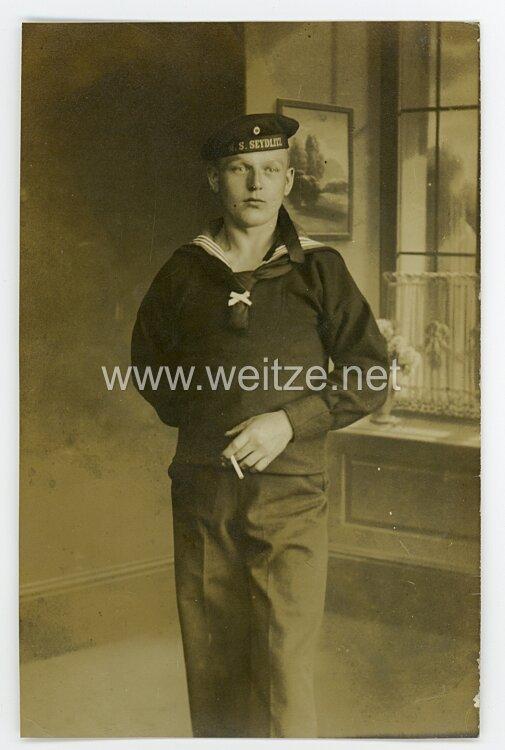 """Kaiserliche Marine Foto Matrose der """"S.M.S. Seydlitz"""""""