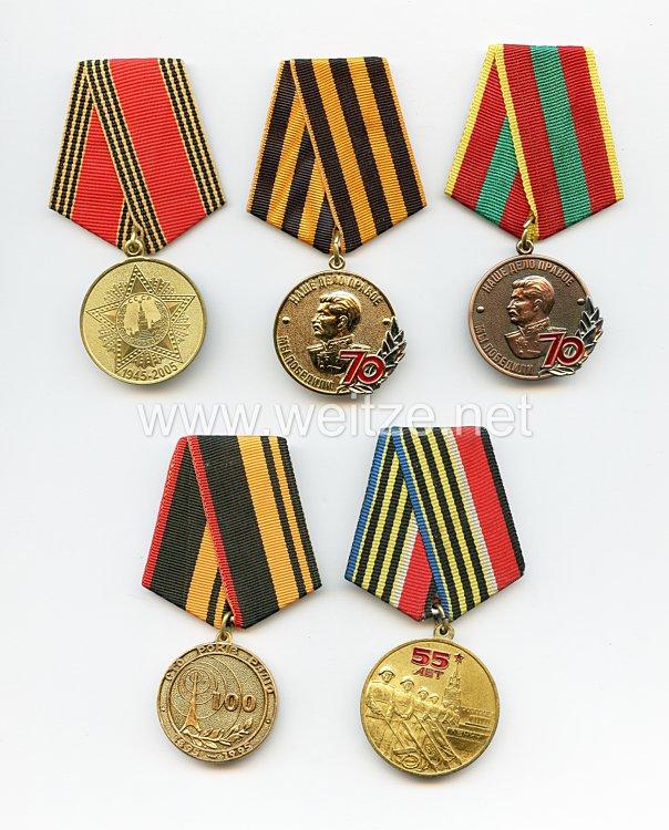 Sowjetunion und Russland: 5 Auszeichnungen