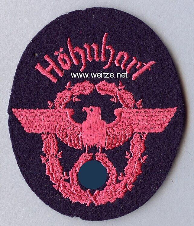 """III. Reich Feuerwehr Ärmeladler """" Höhnhart """""""