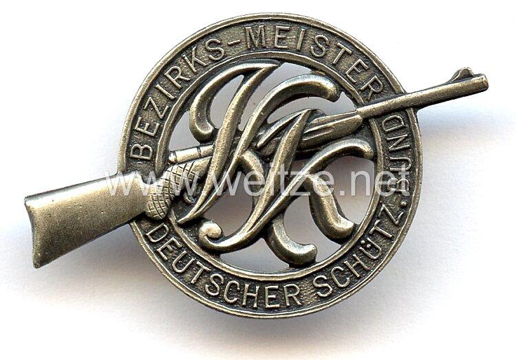 """Deutscher Schützenbund ( DSB ) -Abzeichen """" Bezirks-Meister """""""