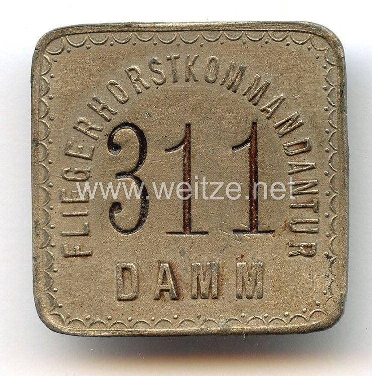 Deutsche Wehrmacht - Luftwaffe ( WL ) -Dienstabzeichen für Angehörige der