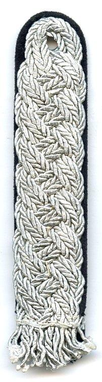 Allgemeine-SS bzw. SS-Verfügungstruppe: Schulterstück für einen SS-Brigadeführer bis SS-Oberstgruppenführer