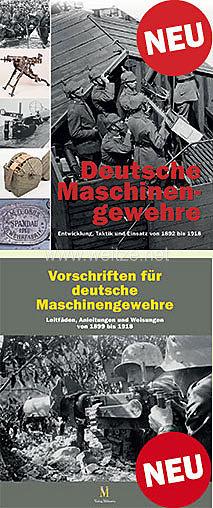Dr. Frank Buchholz, Thomas Brüggen:Deutsche Maschinengewehre + Vorschriften für deutsche Maschinengewehre