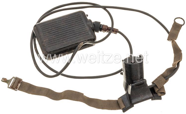"""Wehrmacht Stirnlampe """"Beleuchtungsgerät für Strichtplatte"""""""