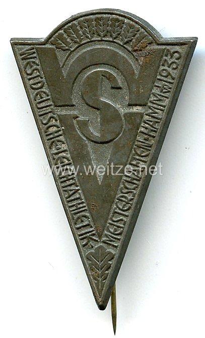 III. Reich - WSV - Westdeutsche Leichtathletik-Meisterschaften Hamm i.W. 1933