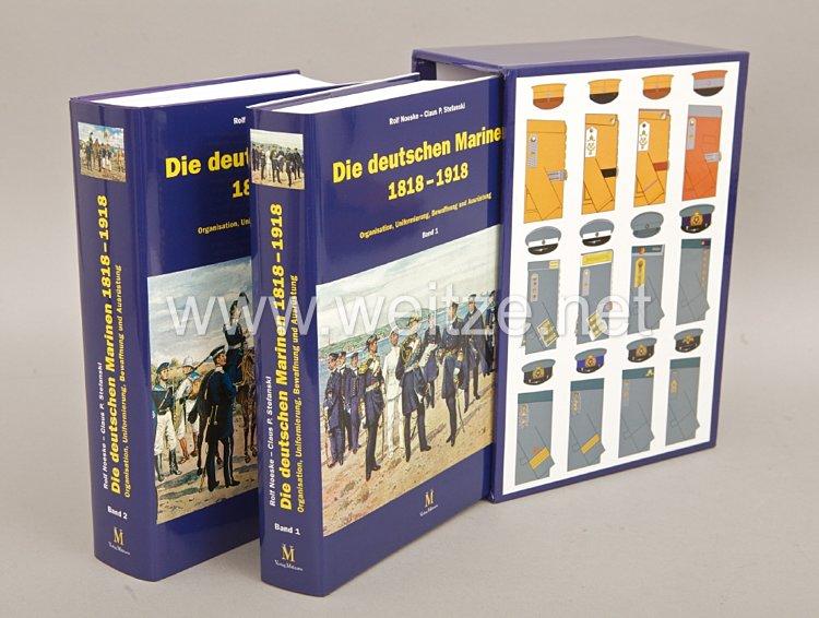 Rolf Noeske, Claus P. Stefanski: Die deutschen Marinen 1818–1918