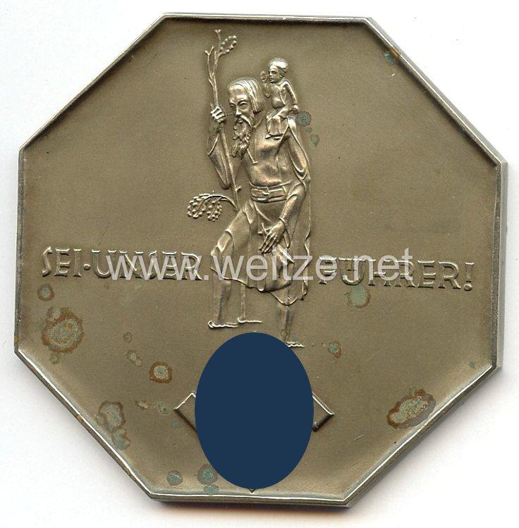 """III. Reich - Plakette """" Sei unser Führer ! """""""